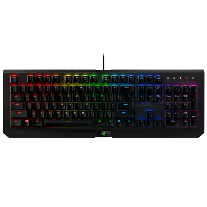 Razer BlackWidow X Chroma Gaming Keyboard Tournament Edition Mechanical Keyboard RGB Backlight Compact Layout X Tournament ChromaGaming Keyboards<br>Description<br><br><br><br><br>Style: Gaming,Multimedia,Ergonomics<br><br><br>Full Size keyboard: Yes<br><br><br><br><br>Application: Laptop,Desktop<br><br><br>Type: Wired<br><br><br><br><br>Wrist Support: No<br><br><br>Package: Yes<br><br><br><br><br>Language: English<br><br><br>Interface Type: USB<br><br><br><br><br>Brand Name: Razer<br><br><br>Keyboard Standard: 104 Keys<br><br><br><br><br>Operation Style: Mechanical<br>