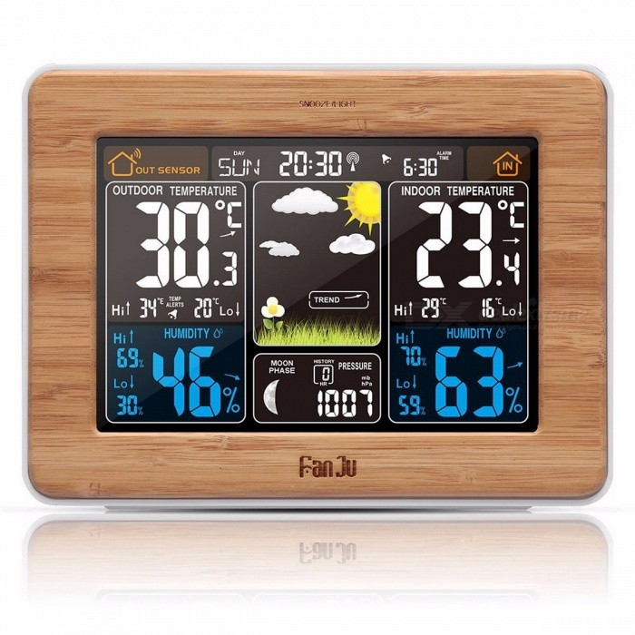 carte sim pour alarme free fanju fj clock weather station with alarm and temperature humidity. Black Bedroom Furniture Sets. Home Design Ideas