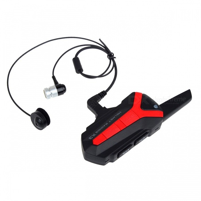 High Quality 2 x Bluetooth Cycle Bicycle Bike Helmet 1.5-3KM Group Intercom Headset Walkie Talkie X3 Plus