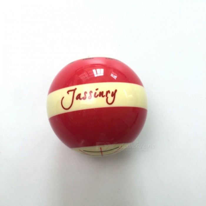Jassinry Red Billiard Training Ball 1pc Professional Design Pool Game 5.72cm CUE Balls For Billiards Coach Bola Balls