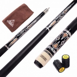 CUESOUL High Quality Billiard Pool Cue Stick with 13mm Cue Tip, Practical Sticks, Five Colors for Choose CSPC027