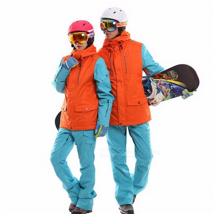 Waterproof snowboarding set couples windproof breathable ski suit women men snowboard jackets mountain skiing clothing set M/women orange blueDescription <br><br><br><br><br>Fit: Fits smaller than usual. Please check this stores sizing info <br><br><br>Gender: Men <br><br><br><br><br>Brand Name: MARSNOW <br><br><br>Fabric Type: Broadcloth <br><br><br><br><br><br><br><br><br>Fabric Type: Broadcloth <br><br><br>color: black/yellow/orange <br><br><br>size: S/M/L/XL/XXL <br><br><br>material inside: Imitation velvet <br><br><br>contain : Jacket and pants <br><br><br>Feature: Windproof/ waterproof/ Keep warm/ Breathable <br><br><br>use for : ski/snow/snowboard/hiking and so on <br><br><br>season: winter <br><br><br>is_customized: Yes <br><br><br>fit: men and women <br><br><br>outside material: thicken Tower silk <br><br><br><br>Product detail: <br><br><br>   <br><br><br><br><br><br><br>Name <br><br><br><br><br>snowboard suit <br><br><br><br><br><br><br>color     <br><br><br><br><br>black/yellow/orange   <br><br><br><br><br><br><br>size <br><br><br><br><br>S/M/L/XL/XXL <br><br><br><br><br><br><br>Material <br><br><br><br><br>Windproof waterproof material, Thermal insulation       Imitation velvet       <br><br><br><br><br><br><br>feather <br><br><br><br><br>Windproof/ waterproof/ Keep warm/ Breathable  <br><br><br><br><br><br><br>package <br><br><br><br><br>Plactic bag <br><br><br><br><br><br><br>  <br><br><br>Due<br> to the measurement tools and measurement methods are not the same, <br>there may be 1-3cm error.Because of the light, may have color a little <br>differ. <br><br><br>We can supply dropshipping,please contact us!!! <br><br><br>Becare of the size ,women size and men size is the same.if you have any question about the size ,please contact us. <br><br><br>jacket size&amp;nbsp;: <br><br><br>  <br><br><br><br><br><br><br>Size(cm) <br><br><br><br><br>S <br><br><br><br><br>M <br><br><br><br><br>L <br><br><br><br><br>XL <br><br><br><br><br>XXL <br><br><br><br><br><br>