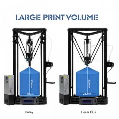 Anycubic 3D Printer Auto-Leveling Platform Pulley Version Linear Guide Plus Large 3D Printing Size 3D Printer DIY Kit Linear Plus Version