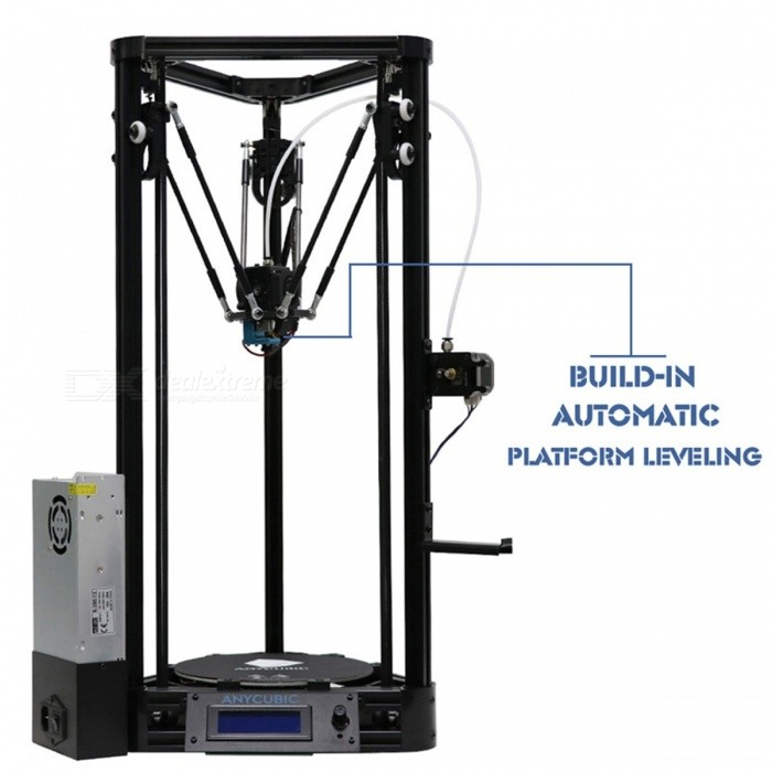 Anycubic 3D Printer Auto-Leveling Platform Pulley Version Linear Guide Plus Large 3D Printing Size 3D Printer DIY Kit