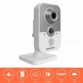 HIKVISION HD Wireless IP Camera 1080P DS-2CD2442FWD-IW 4MP IR Cube Network WiFi Camera Android Support Replace DS-2CD2432F-IW