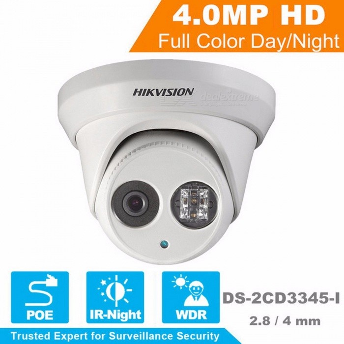 Hikvision CCTV Camera 1080P Full HD 4MP Multi-Language Security IP Camera PoE Camera DS-2CD3345-I Onvif Replace DS-2CD2432WD-I