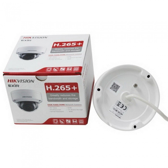 Origianl Hikvision H.265 CCTV Camera DS-2CD2185FWD-IS 8 Megapixesl Dome IP Camera Built-in SD Card Slot & Audio