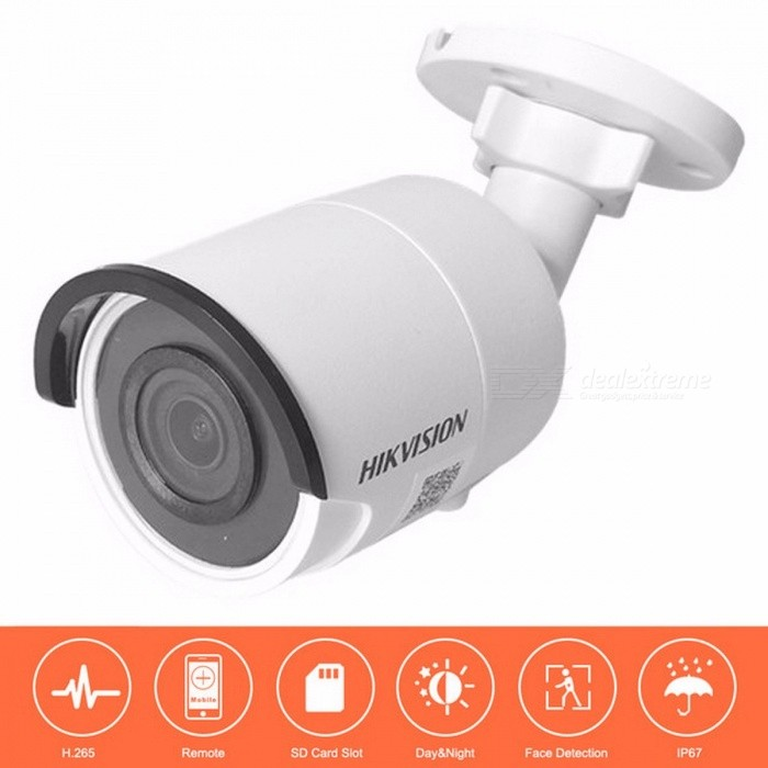 Hikvision PoE IP Camera DS-2CD2055FWD-I 5 Megapixel WDR Network Mini Bullet IP Camera H.265 Replace DS-2CD2052-I
