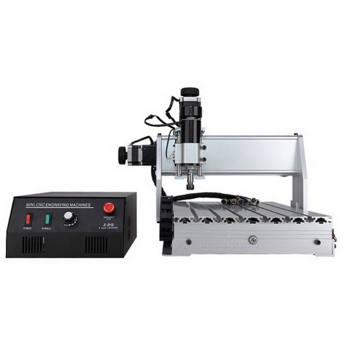CNC 3040 Z-DQ 3-axis CNC Router Engraver Ball Screw Cutting Milling  Drilling Engraving Machine Mini CNC 3040 500W Manufacturer 110V US Plug