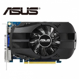 ASUS Video Card Original GTX650 1GB 128Bit GDDR5 Graphics Cards for nVIDIA Geforce GTX 650 Hdmi Dvi Used VGA Cards black'