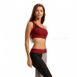 Syprem High Quality Bra Sports bra fitness Yoga mesh bra Running Sexy Bra Lady Sportswear Sports Top For Female,1FT0017 EUR size XS/Red