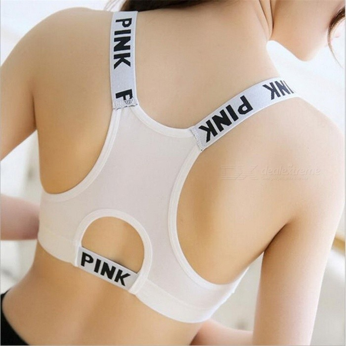 aef892a1d2 Professional Women s Sports Bras GYM Lady Running Fitness Exercise Quick-Drying  Underwear Training Dancing Shockproof
