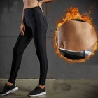 Women's Hot Cool Sweat Pants Body Shaper Weight Lose Fat Burne Stretch Slimming Waist Pants Running Yoga Activewear S/FBF716401