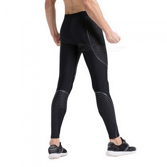 8b87849509 ... Men's Cool Compression Pants Running Tights Basketball Gym Pants  Bodybuilding Jogger Jogging Skinny Leggings Trousers Sportswear