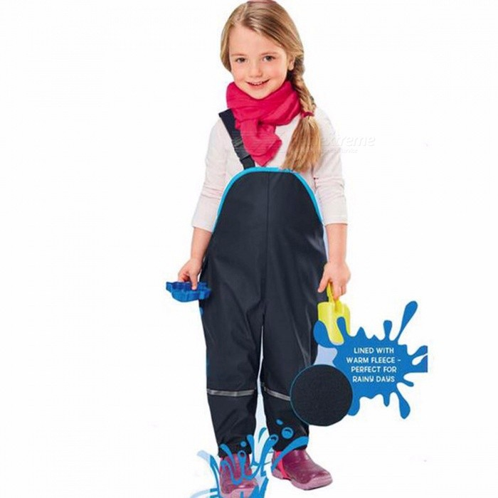 Children Rain Pants Waterproof Trousers Padded Boys Windproof Outdoor Girls Piece Skiing Overalls Ski Suit Outdoor Pants 3T/BlueDescription<br><br><br><br><br>Department Name: Children<br><br><br>Gender: Unisex<br><br><br><br><br>Material: Lycra,Polyester,Cotton<br><br><br>Brand Name: Kids Tales<br><br><br><br><br>Fit: Fits true to size, take your normal size<br><br><br>Decoration: Button<br><br><br><br><br>Pattern Type: Solid<br><br><br>Pant Style: Harem Pants<br><br><br><br><br>Waist Type: High<br><br><br>Closure Type: Drawstring<br><br><br><br><br>Fit Type: Straight<br><br><br>Item Type: Full Length<br><br><br><br><br><br><br><br><br><br><br><br>Fit : 2-7Yrs Baby Boys&amp;nbsp;Girls<br><br><br>Size: 98?2T) 104(3T) 110(4T) 116(5T) 122(6T) 128(7T)<br>