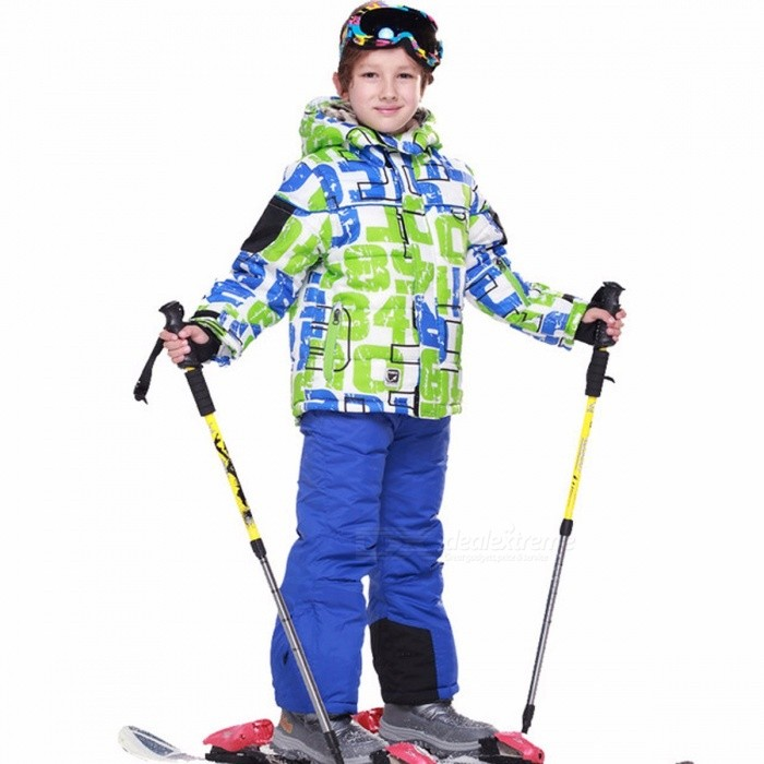Cool High Quality Skiing Jacket + Pant Snow Suit Fur Lining 20 DEGREE Ski Suit Kids Winter Clothing Set For Boys M/241911Description<br><br><br><br><br>Outerwear Type: Jackets<br><br><br>Sport Type: Skiing<br><br><br><br><br>Feature: Anti-Shrink,Anti-Wrinkle,Quick Dry,Windproof,Breathable,Anti-Pilling,Waterproof<br><br><br>Gender: Boys<br><br><br><br><br>Fit: Fits true to size, take your normal size<br><br><br>Collar: Hooded<br><br><br><br><br>Brand Name: Detector<br><br><br>Material: Polyester<br><br><br><br><br><br><br><br><br><br><br><br><br><br><br><br>This<br> lightweight, laminated, and insulation-lined jacket keeps the wearer <br>dry in all kinds of cold-weather environments. The jacked includes <br>special pockets, ready for goggles, gloves, personal devices, and more. <br>The concealed snow skirt protects the wearer from unnecessary cold and <br>moisture with a great fit.<br><br><br><br><br><br><br><br><br><br><br>Key features:<br>• 100% Cotton<br>• Waterproof, breathable, and fully sealed<br>• Interior stretch cuffs with thumb holes<br>• Internal zipper pocket and mesh goggle pocket<br>• Four-snap, snap-down stretch powder skirt with elastic grip<br>