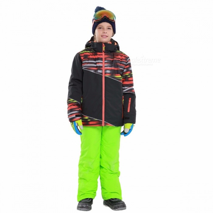 4ed7f08c6 Winter Boy Ski Suit Men Outdoor Waterproof Windproof Jackets Pants ...