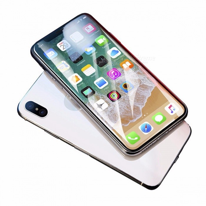 Baseus Screen Protector Tempered Glass Ultra Thin Anti Blue Light Full Screen Front Cover For IPHONE X Glass Film For iPhone X/Anti Blue LightScreen Protectors<br>Description<br><br><br><br><br>Use: Mobile Phone<br><br><br>Features: Easy to Install,Scratch Proof,Ultra-thin<br><br><br><br><br>Package: Yes<br><br><br>Type: Front Film<br><br><br><br><br>Edge-to-edge Coverage: Yes<br><br><br>With Retail Package: Yes<br><br><br><br><br>Compatible iPhone Model: iPhone X<br><br><br>Brand Name: BASEUS<br><br><br><br><br>Compatible Phone Brand: Apple iPhone<br>