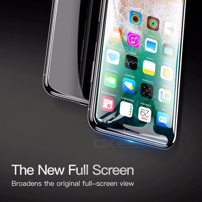 Baseus Screen Protector Tempered Glass Ultra Thin Anti Blue Light Full Screen Front Cover For IPHONE