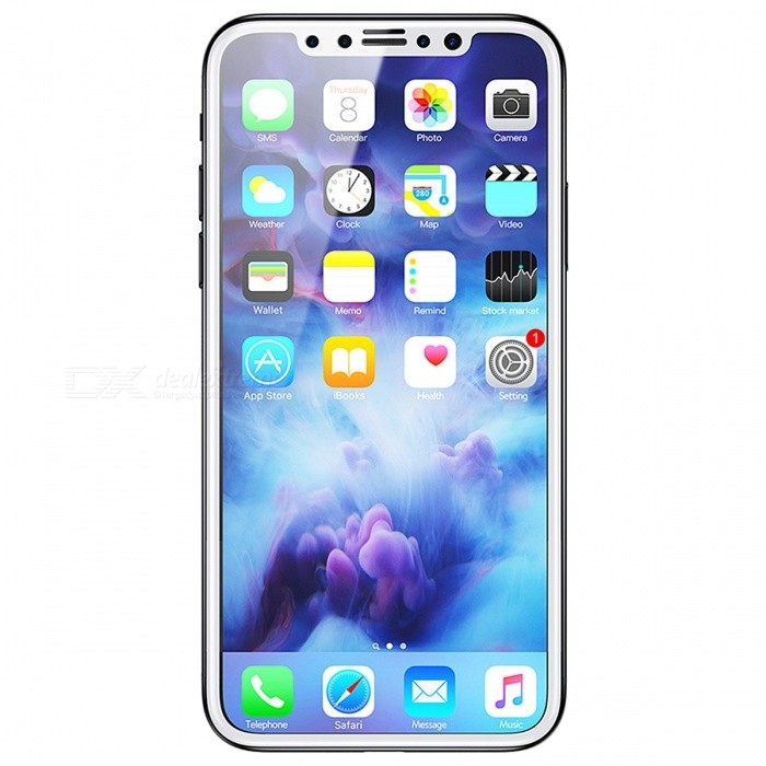 Baseus 3D Tempered Glass Screen Protector Privacy Glass Film For IPHONE X Anti Peeping Glass Film Protective Glass