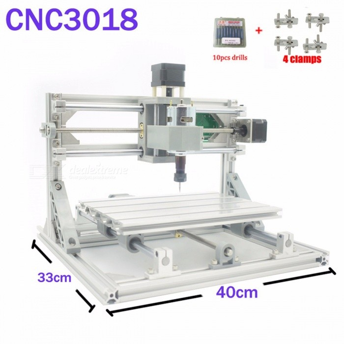 CNC 3018 ER GRBL Control DIY CNC Machine, 3 Axis Pcb Milling Machine, Wood Router Laser Engraving Best Toys