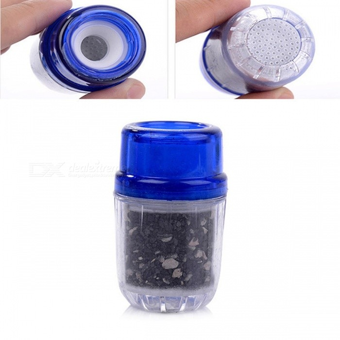 LUCOG Mini Kitchen Activated Carbon Water Filter, Household Faucet ...