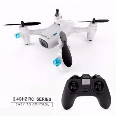 Profession Upgraded Hubsan X4 Camera Plus H107C+ H107C Mini Drone with Camera, HD 720P 6-axis Gyro RC Quadcopter White