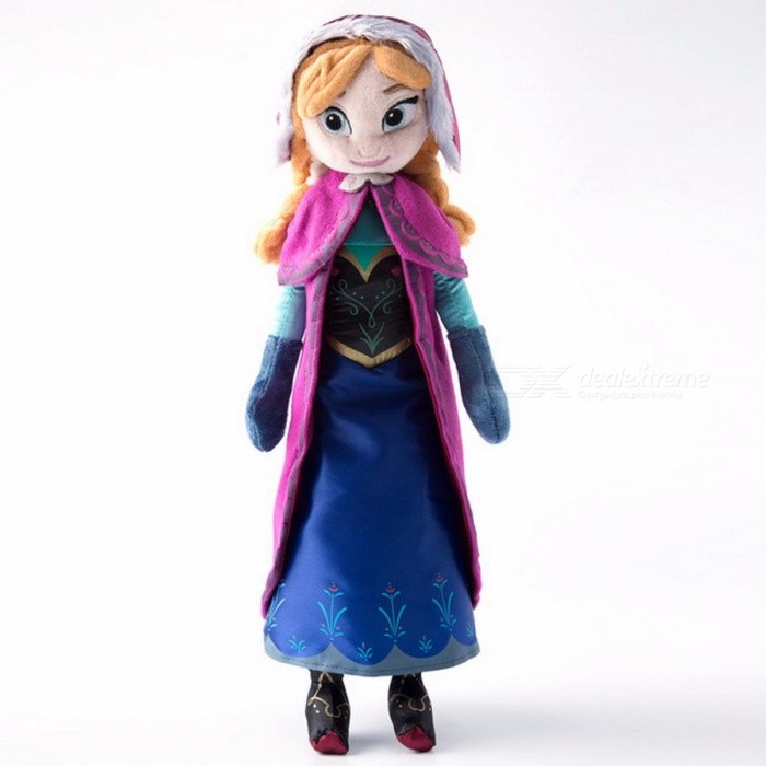 40cm 2Pcs Lot Cute Plush Doll Toys Unique Gifts For Kids Girls Princess Anna