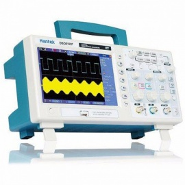 Hantek DSO5102P Digital Oscilloscope 100MHz 2 Channels 1GSa/s 7'' TFT LCD  Record Length 40K USB AC110-220V DSO5102P  and P4100