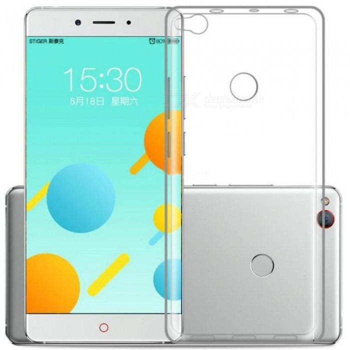new concept 232c4 62ecf Clear Transparent Soft Silicone TPU Case For ZTE Nubia Z11 MiniS Max M2  Lite Z17 Mini N2 N1 Ultra Thin Protective Cover M2/claro