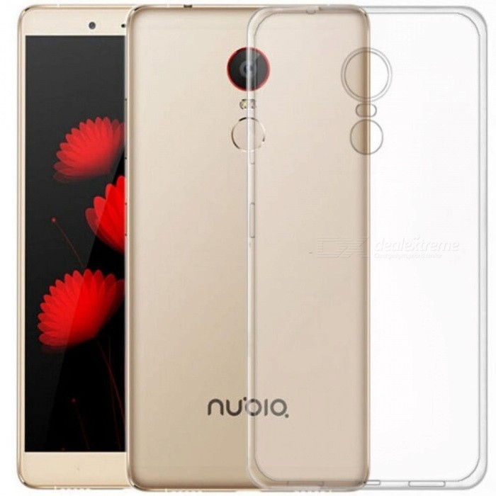 Clear Transparent Soft Silicone TPU Case For ZTE Nubia Z11