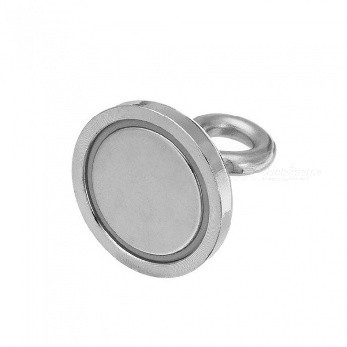 36mmx40mm 50kg Neodymium Recovery Magnet Metal Detector Claw Hook Strong magnetic with 304 steel and neodymium magnet