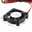 2pcs Anet 40 * 40 * 10mm DC 12V Brushless Cooling Cooler Fan 2 Wire for RepRap  i3  3D Printer Cooling Fans For 3D Printing