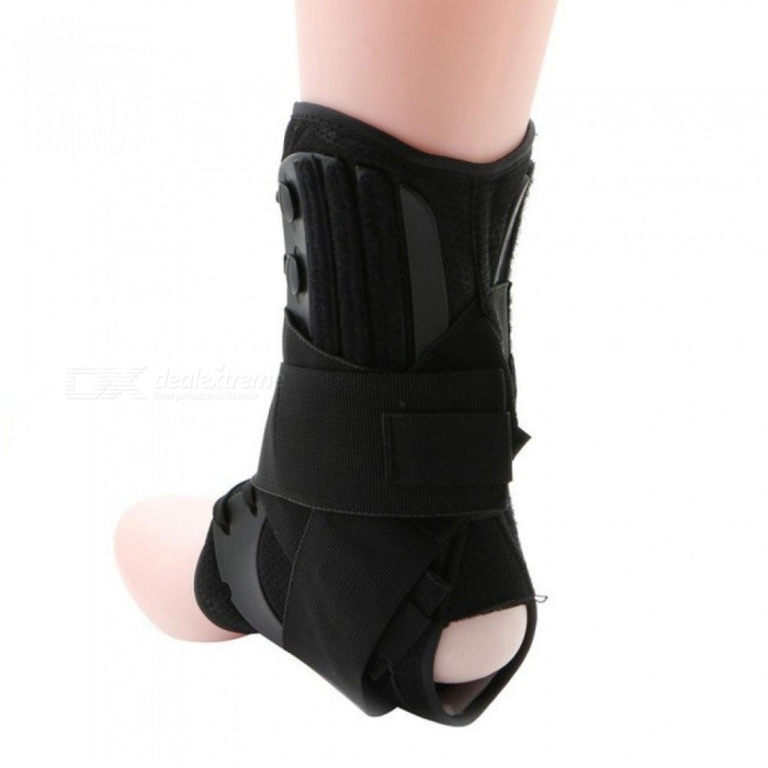 1pc Back Ankle Braces Bandage Straps Sports Safety Adjustable Ankle Protectors Supports Guard Foot Orthosis Stabilizer Back To Search Resultssports & Entertainment