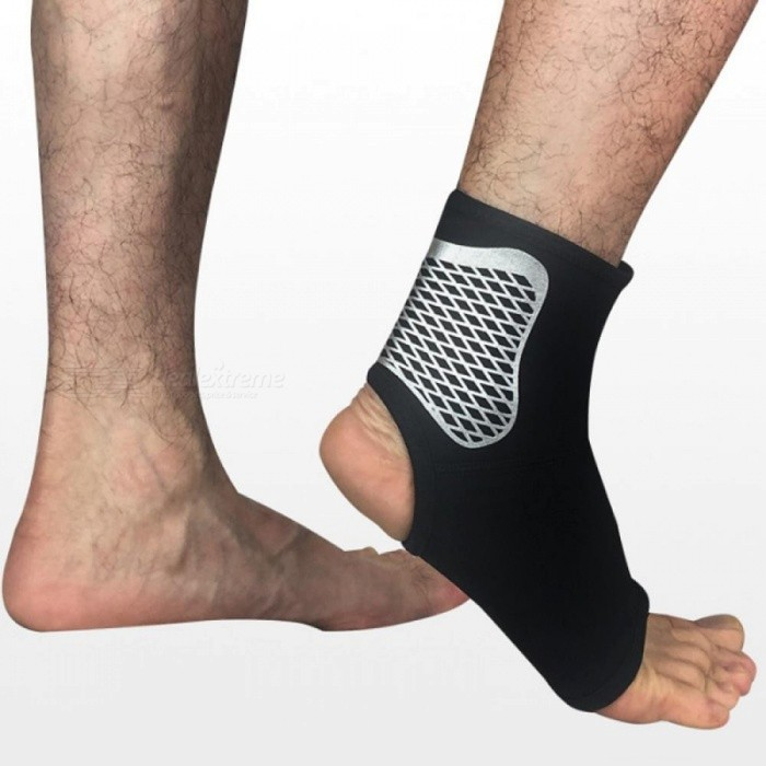 ... Sports Ankle Support Ankle Pads Elastic Brace Guard Foot Ankles Protector Wrap Football Basketball Running Guard ...