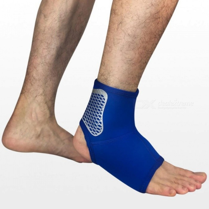 ... Sports Ankle Support Ankle Pads Elastic Brace Guard Foot Ankles Protector Wrap Football Basketball Running Guard