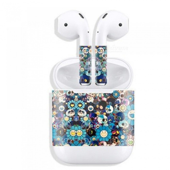 86177795867 New Release Protective Sticker Earphone for Apple AirPods Skins Removable  Adhesive Decorative Decal Wrap head Film