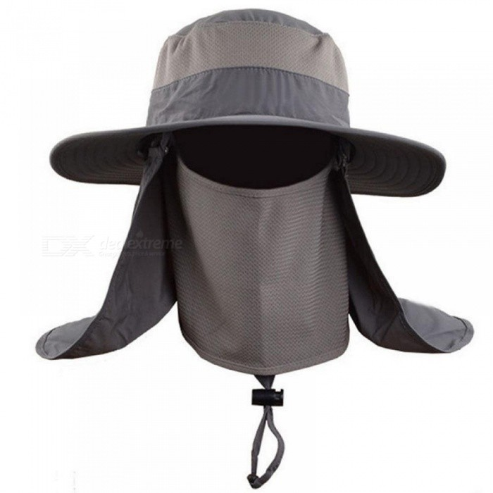Outdoor Bucket Hat Large Round Brim Sun Block Quick Drying Fishing Hats Summer Sun Cap for Travel Mountain Climbing Bucket Hat