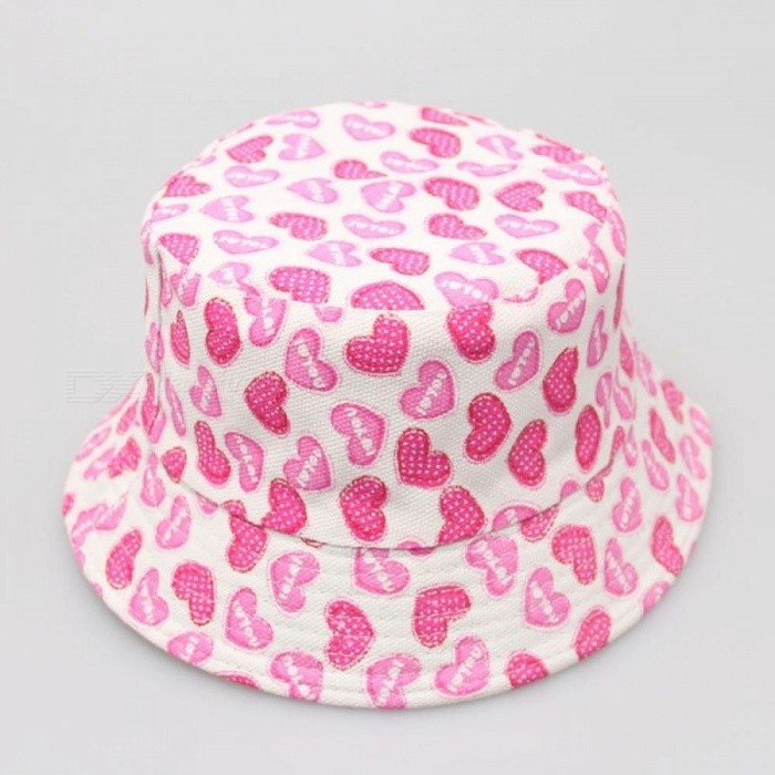 Kids Floral Sun Protection Hat Design Summer Beach Flower Canvas Boonie  Fisherman Hats Bucket Hat Cap for Kids 11 - Worldwide Free Shipping - DX 0a7aa65103a0