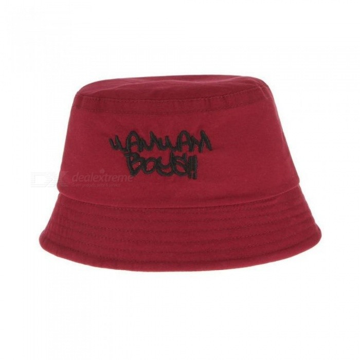 Cotton Baby Summer Hat Kids Letter Cap Sun Bucket Hats Double Sided Caps  Flat Bucket Hat 14011db78206
