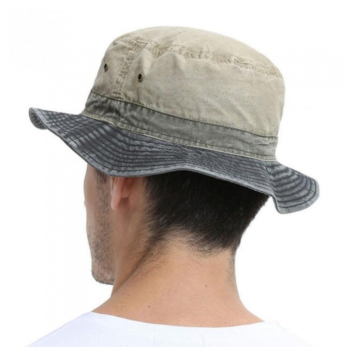 ... Men s Bob Summer Panama Bucket Hats Outdoor Fishing Wide Brim Hat UV  Protection Cap Men Sombrero 49dd8ce3a5e