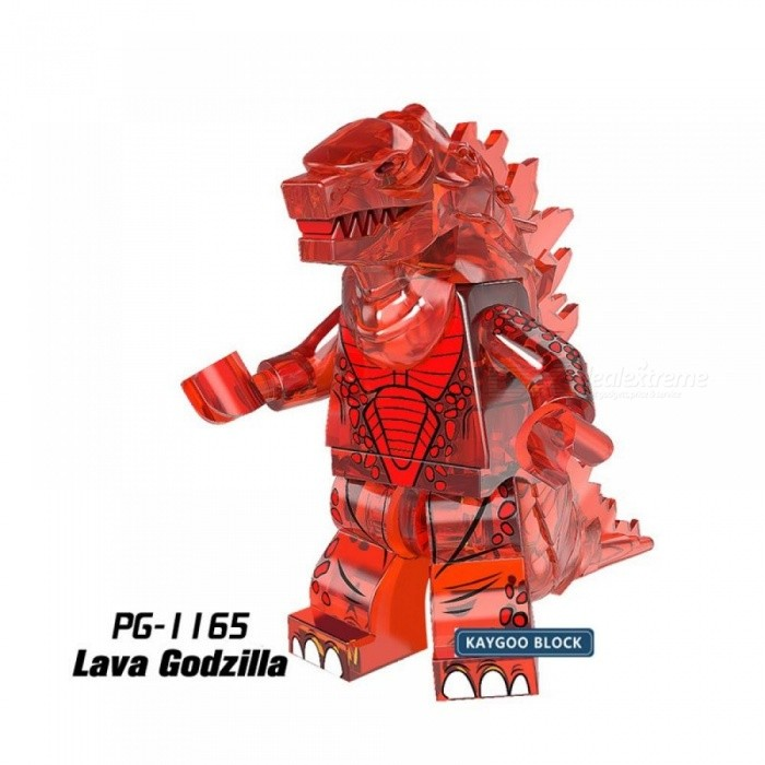 Star Series Space Wars Super Heroes Marvel DC Godzilla Tauren Minotaur Figure Alien Heimdall Building Blocks Model Kit Brick Toy