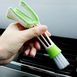 For Audi A3 8V A4 B5 B6 B7 B8 A6 C5 A5 TT Q3 Q5 Q7 80 100 A1 A2 A7 A8 S3 S4 R8 RS Quattro S line Car Cleaning Double Side Brush Double Side Brush