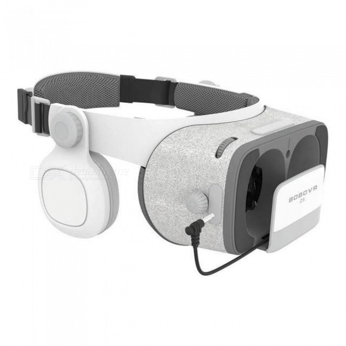 Z5 Virtual Reality 3D Glasses Cardboard FOV 120 Degrees VR Box 3D Headset for Android IOS with Daydream Remote Controller
