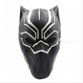 Captain America Black Panther Mask Cosplay Animal Masks Airsoft Cs Protective Costume Game Marvel Heroes Fighting Black Panther Mask