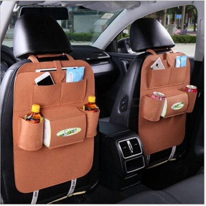 Car Storage Bag  Back Seat for Audi A4 B5 B6 B8 A6 C5 C6 A3 A5 Q3 Q5 Q7 BMW E46 E39 E90 E36  E34 E30 F30 F10 X5 X6 Accessories