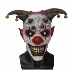 The Clown Horror Latex Halloween Scary Head Mask Full Face Party Masks Villain Joke Mask Christmas Cosplay Clown Mask