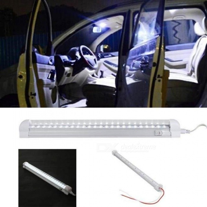 24v 504w trucks vehicle 18 led modified cab work working white leveing leves lamp bulb