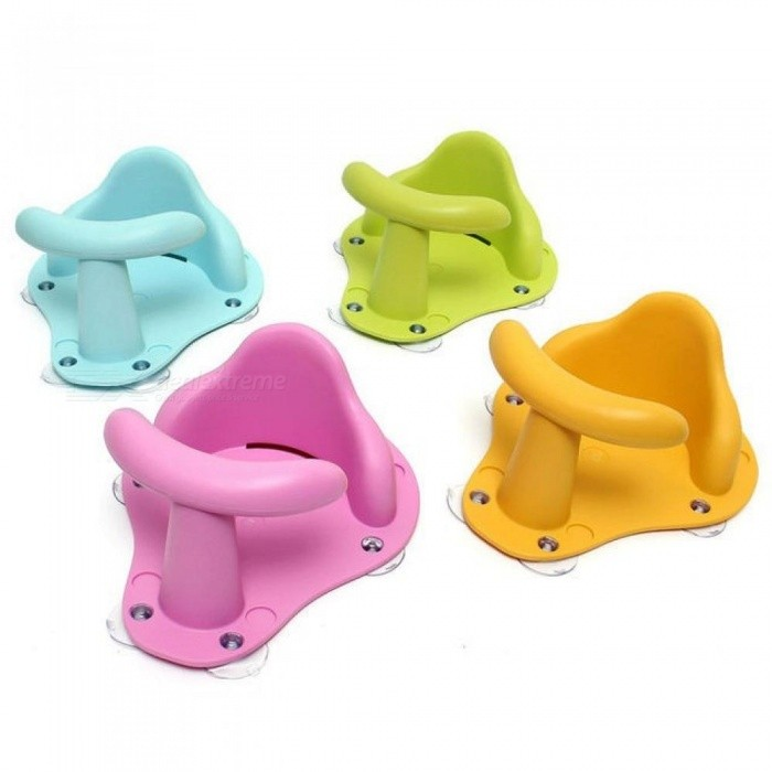 Four Colors Infant Baby Bath Tub Ring Seat Children Shower Toddler Kids Anti Slip Security Safety Chair
