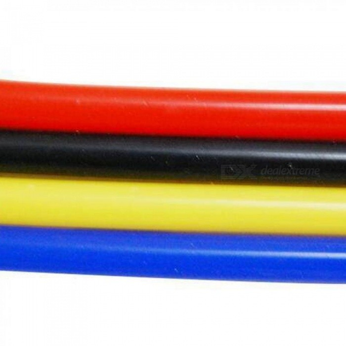 Universal 5M 3mm/4mm/6mm/8mm Silicone Vacuum Tube Hose Silicon Tubing Blue Black Red Yellow Car Accessories